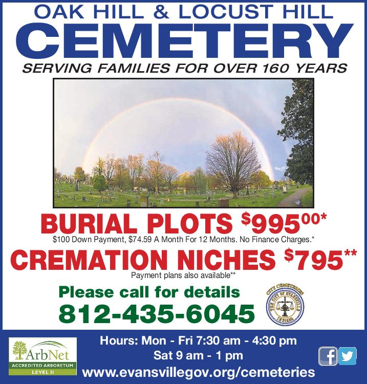 2017 City Cemeteries Advertisement